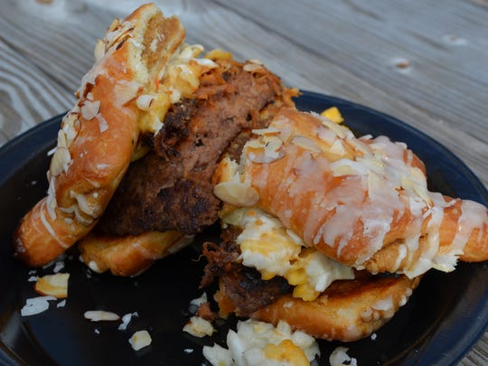 The Bear Claw Burger will be one of the featured items at the Donut & Beer Festival.