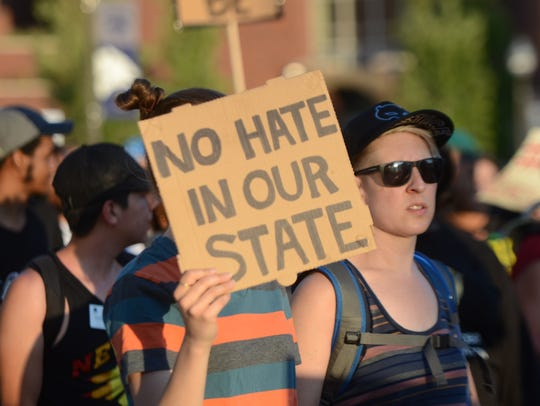 Images of the Black Lives Matter March Against Hate