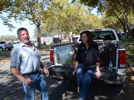 Bob and Diane Rosecranz at the Napa Valley Fairgrounds