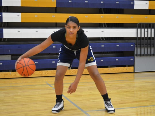 Battle Creek Central's Arieonna Ware is considered one of the top freshman players on this side of the state.