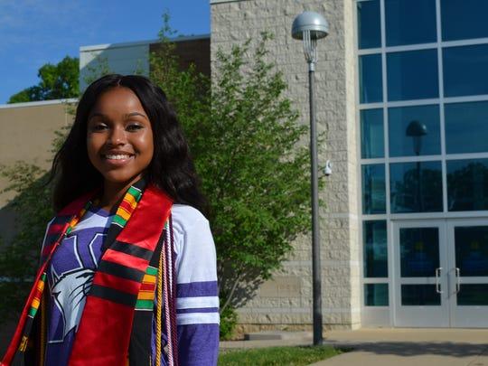 Sophia Simon, a graduating senior from East Lansing