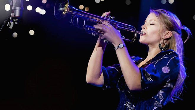Award-winning trumpeter-vocalist Bria Skonberg will be among the artists performing at the Central Jersey Jazz Festival this weekend.