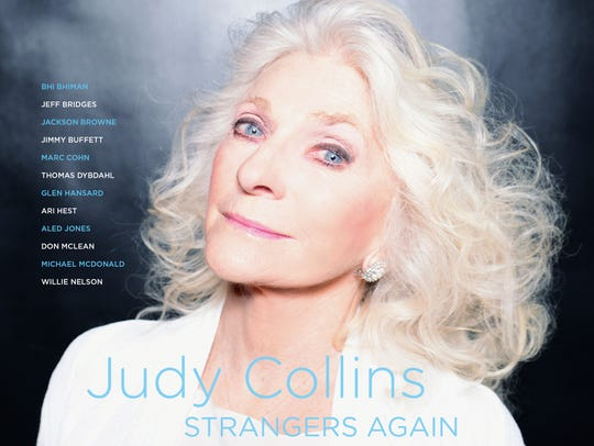 Judy Collins as captured on the cover of her latest