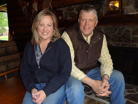 1 JJJ Ranch owners Kim and Ernie Barker