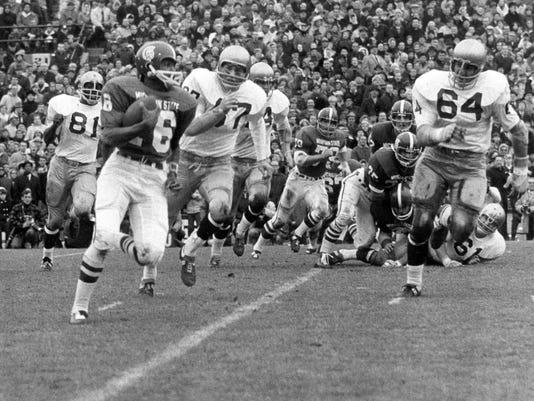 Michigan State vs. Notre Dame in 1966 tie