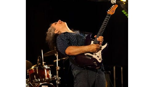 Blues artist Bobby Messano takes the stage this weekend at Crash Music at the Aztec Theater.