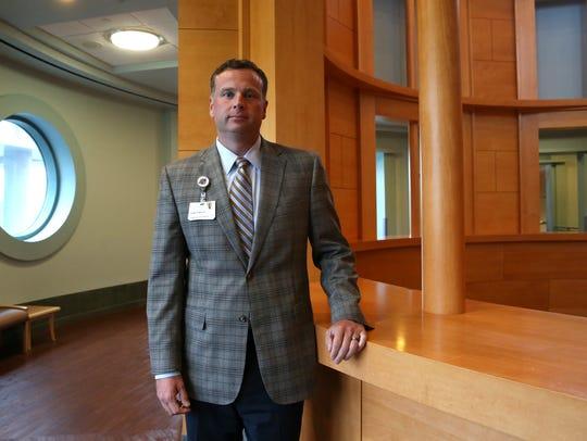 Mark Robinson, CEO of Capital Regional Medical Center,