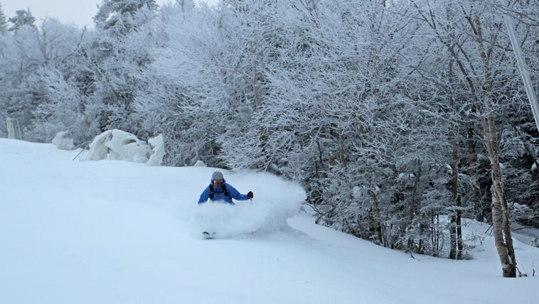 Skiers are thankful for Thanksgiving powder at Wildcat