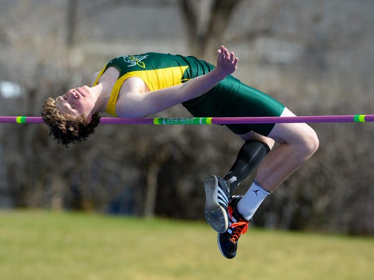 CMR's Tucker Greenwell was voted the boys' Athlete
