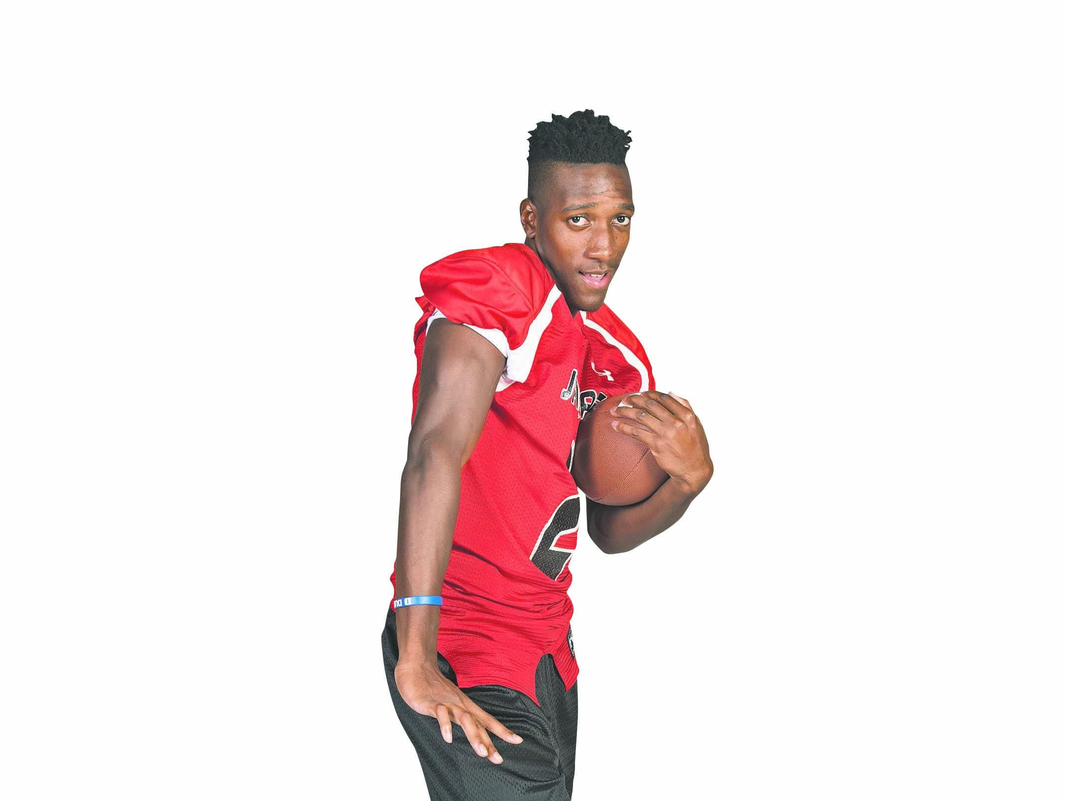 West Florida wide receiver Damond Johnson