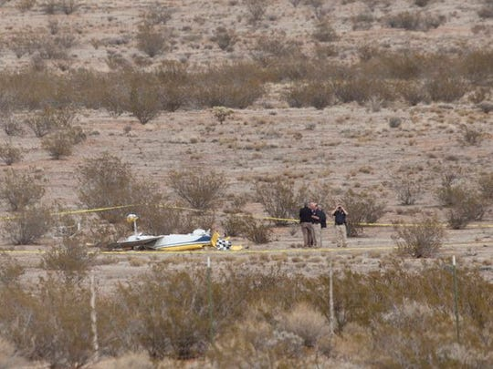 A plane crash in Hurricane near the area of 1300 South 3325 West left two people dead on Thursday, Dec. 10, 2015.