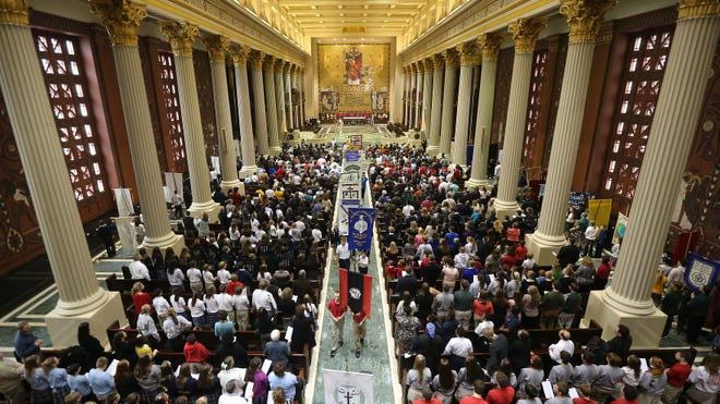 St. Peter in Chains Cathedral in Cincinnati has been named a minor basilica by Pope Francis.