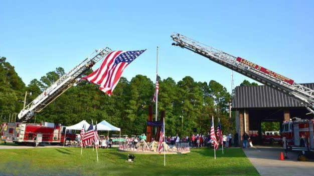 Sept. 11 memorial services will be held Friday throughout the area, including Fairfield Harbour, Havelock, New Bern, Jacksonville and Kinston.