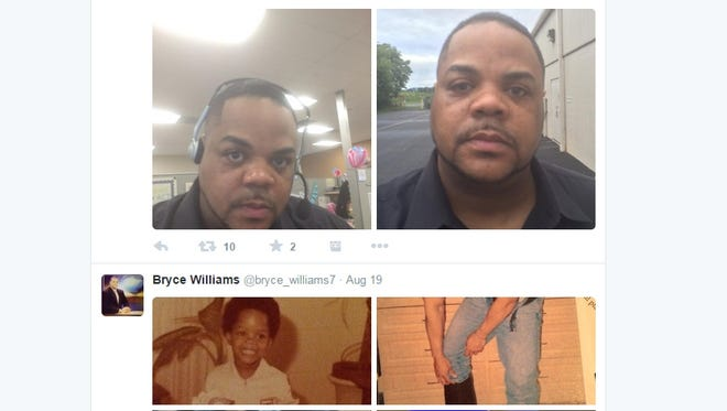 An image from the Facebook page of Vester Lee Flanagan II, whose TV name was Bryce Williams.
