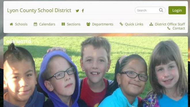 The Lyon County School District's new website goes live Aug. 1. Each school also will be redesigned to be more consistent in theme.