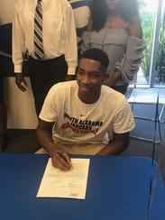 Canterbury basketball player Berrick JeanLouis signed