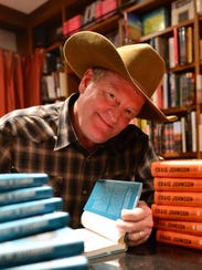 Craig Johnson says he finished his first book in the