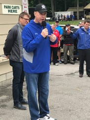 Jim Kelly hosted his 32nd annual celebrity golf tournament