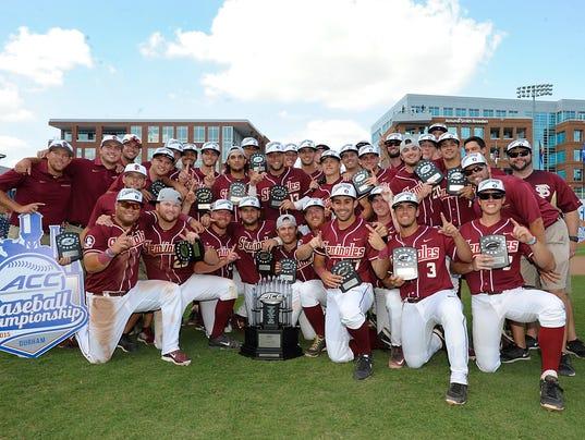 2015 ACC Baseball Championship #ACCbase
