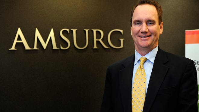 Chris Holden. CEO of Nashville-based AmSurg, a same-day surgery centers operator, says acquiring physicians group Sheridan Healthcare gives them a broader array of medical services.