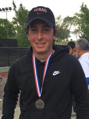 El Paso High's Jaime Ramos qualified for the state tournament in the Class 5A boys singles.