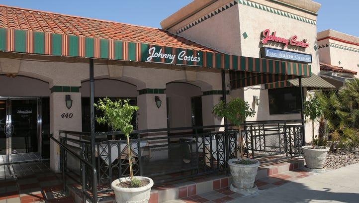 The interior of Johnny Costa's Ristorante in Palm Springs