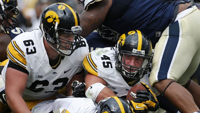 Iowa needs to wear Purdue down at the line of scrimmage to win
