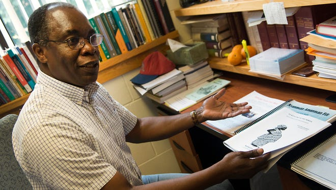 Ettien Koffi, an English and foreign language professor at St. Cloud State University, has been working since 1991 on a written version of the Anyi language.