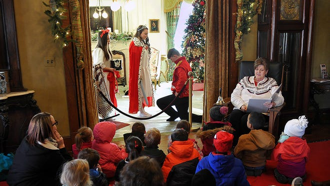 Children visiting Santa House at the Kell House Museum Friday enjoyed the story of The Magical Rocking Horse. They also had storytime with Santa, decorated cookies with Mrs. Claus and made a keepsake ornament.