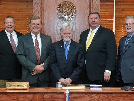 Wichita Co Commissioners Feb2017