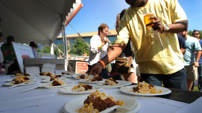 Foodies will sample dozens of tastes during Dig IN, a celebration of local food and drink. Chefs, farmers, restaurants, brewers and others in the food and drink business come together at White River State Park Aug. 17.