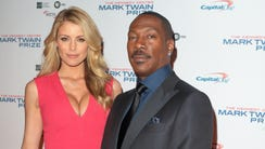 Eddie Murphy with Paige Butcher at the Kennedy Center