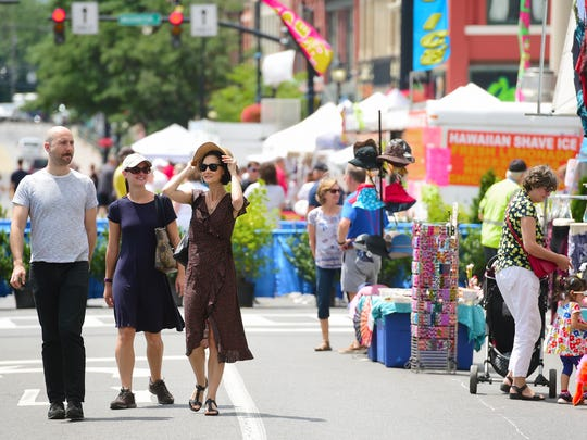 Vendors, music and more: That's July Fest in downtown Binghamton, which opens July 5.