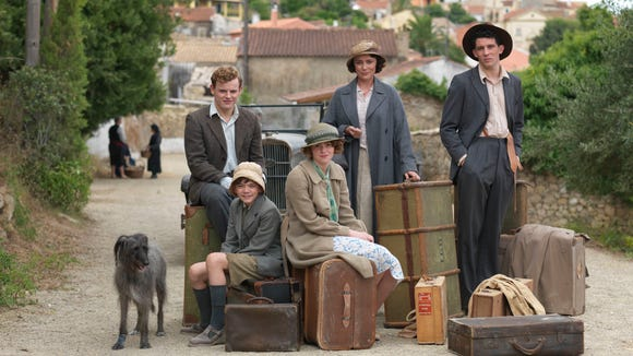 The cast of 'The Durrells in Corfu' on PBS.