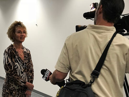 Joyce Wilson, CEO of Workforce Solutions Borderplex, talks May 2 about the launch of two annual summer youth jobs programs for the El Paso area.