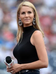 ESPN and SEC Network announcer Laura Rutledge has signed