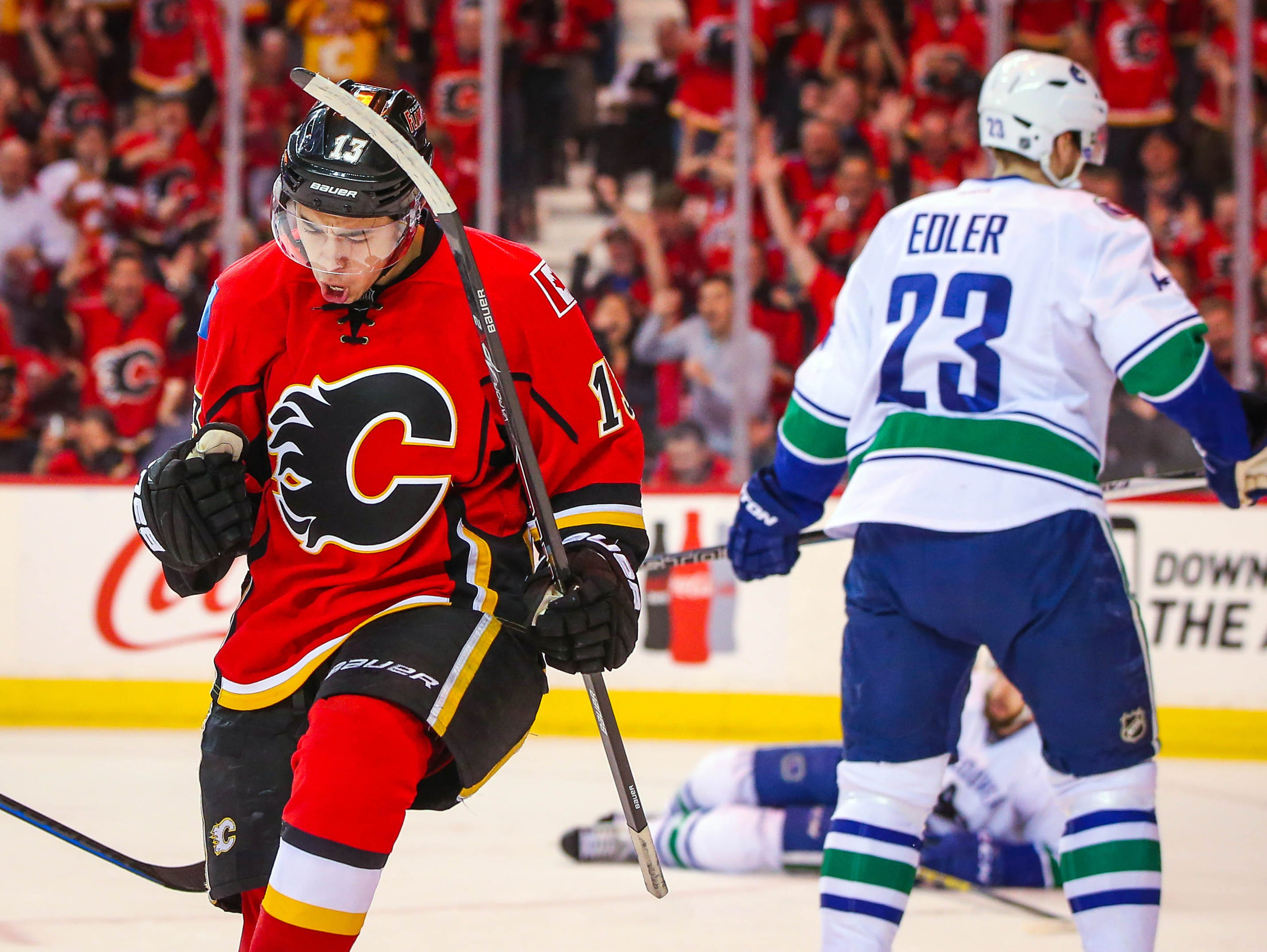 Johnny Gaudreau, a former Gloucester Catholic standout, is one of three finalists for the NHL's rookie of the year award.