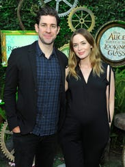 John Krasinski and Emily Blunt have welcomed second