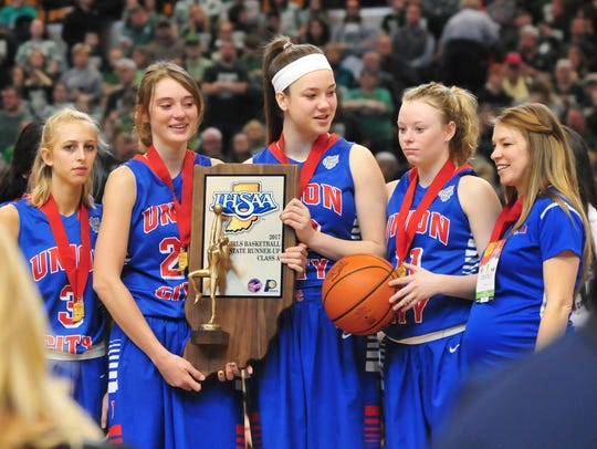 Union City fell to Wood Memorial 68-43 in the IHSAA
