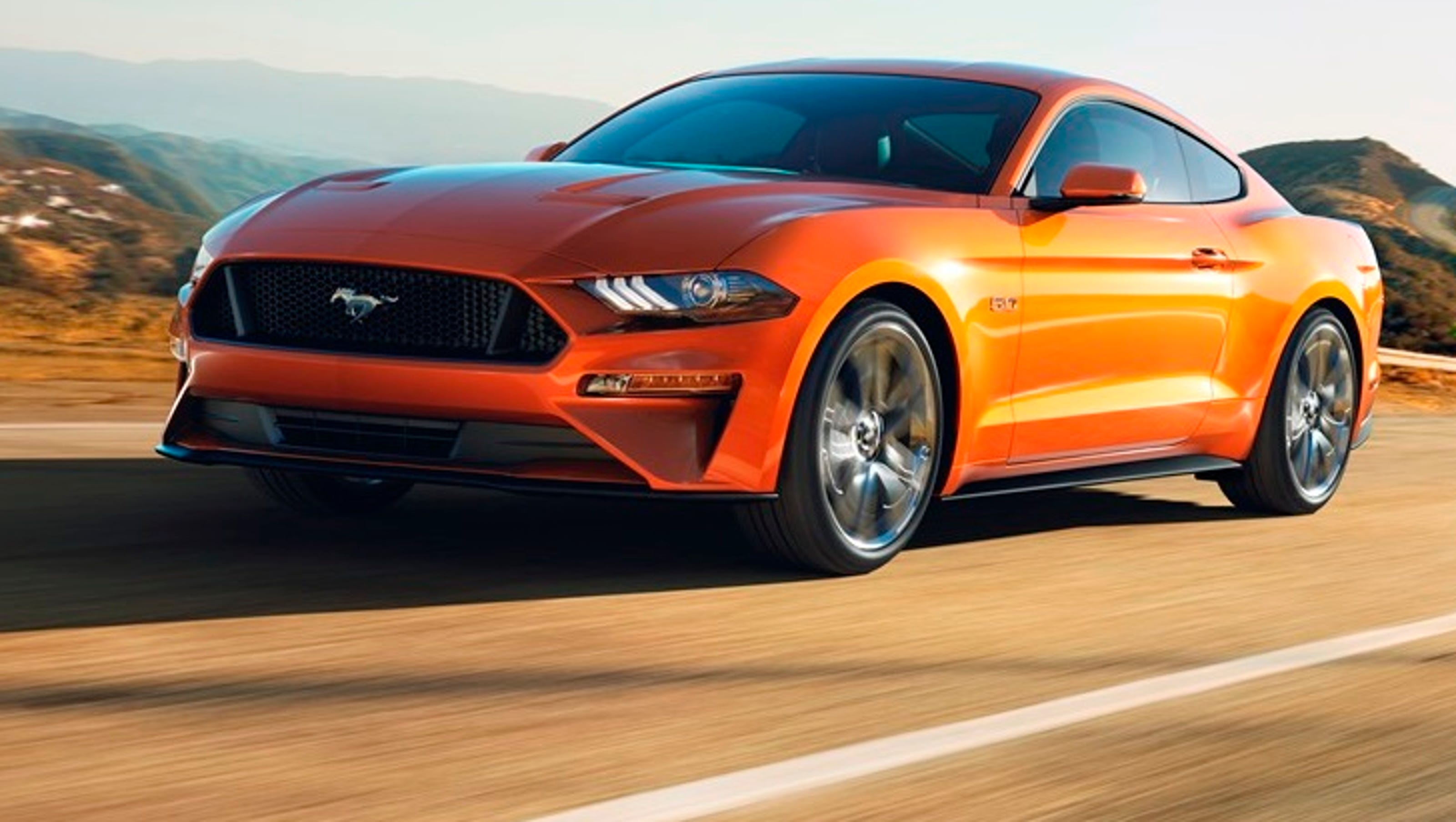 Ford says mustangs acceleration will blow doors off rivals