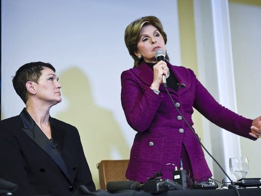 Attorney Gloria Allred Who Represents Alleged Victims Of Bill Cosby Holds Press Conference In Denver, CO