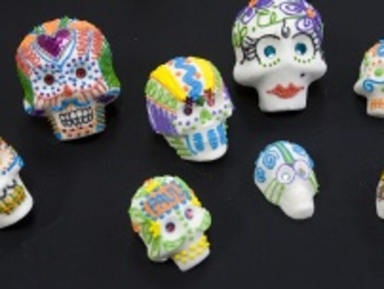 Day of the Dead sugar skulls.