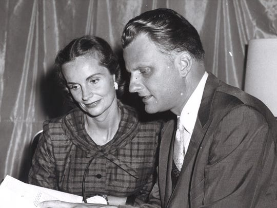 Billy and Ruth Graham.