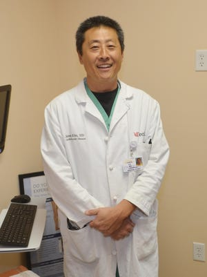 Dr. James Kim is an interventional cardiologist for the Heart Care Centers of Florida in Titusville.