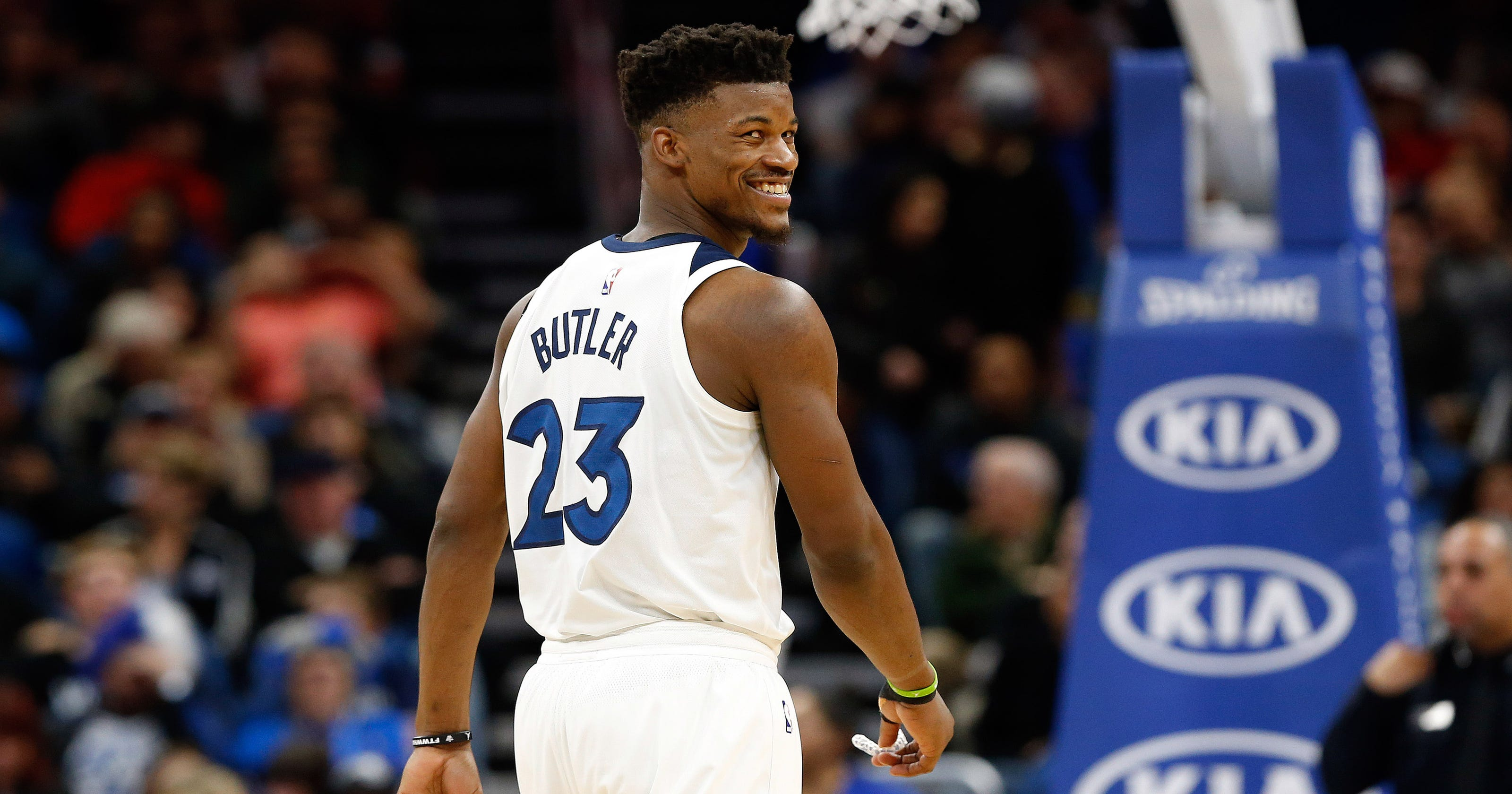 ac94ddbe3a3c NBA star Jimmy Butler pays up after fan charges  20 for fantasy league