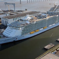 New world's largest cruise ship Symphony of the Seas isn't just bigger. It's faster