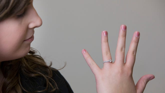 Why Hannah Smith hates being engaged.  Essay on how people treat her once they find out she is engaged.
