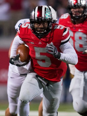 Braxton Miller and the Buckeyes improved to 8-0.