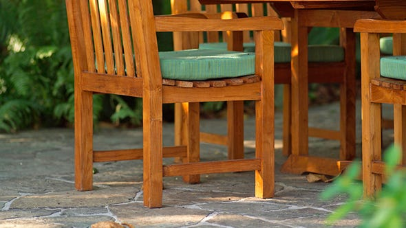 Stone, brick and concrete patio pavers are durable