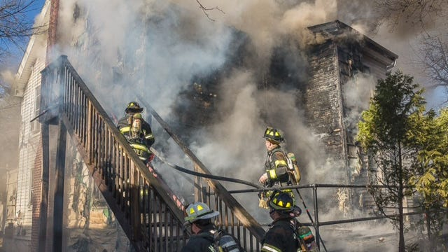 A fire on Thursday destroyed a Yeshiva of Rockland dormitory building at 2 E. Funston Drive.